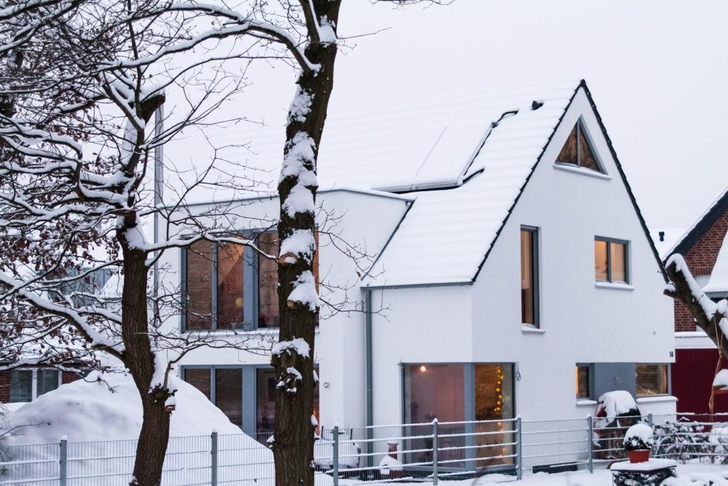 Ein Paar Bilder Von Unserem Kfw 40 Haus In Munster Mit Skantherm